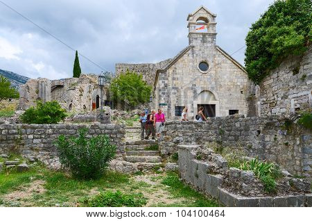 St. Nicholas Church, Old Bar, Montenegro