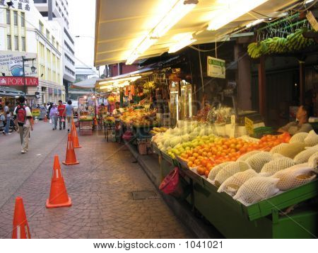 Food Market, China Town