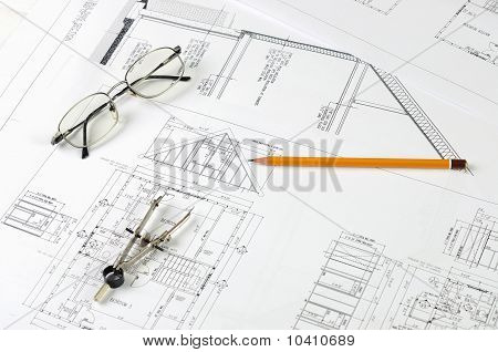 drawings of building