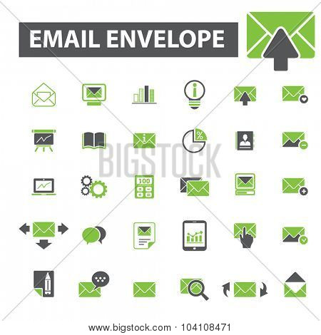 email, message, mail marketing icons