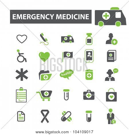 emergency medicine icons