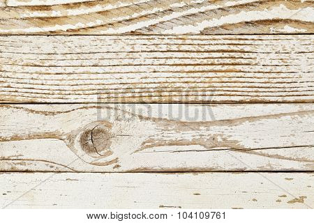 grunge wood background with old white painted planks, different grain patterns