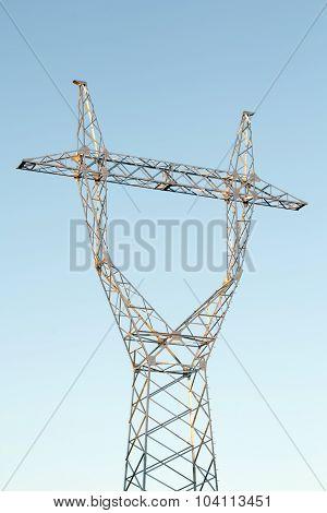 Power Line Pillar