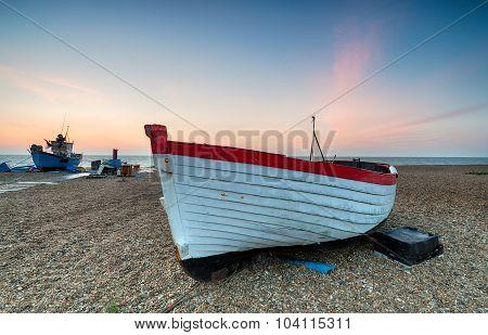 Fishing Boats At Aldeburgh