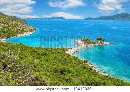 Beautiful Beach Close To Dubrovnik, Croatia
