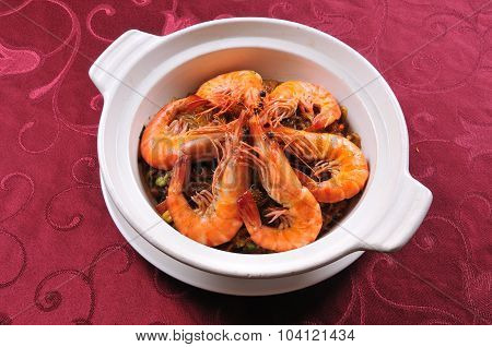 Shrimps cuisine