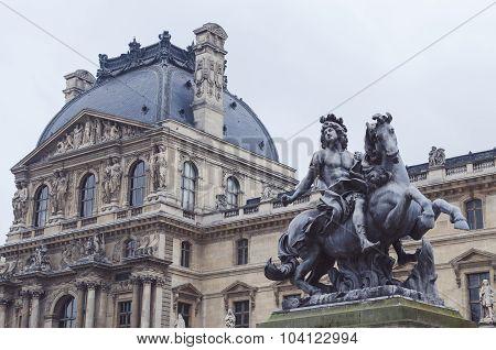 Paris France The Louvre Museum