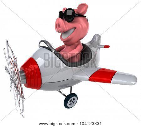 Fun pig