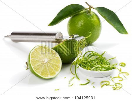 Zest Of Lime.