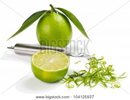 Scraping Zest From An Lime