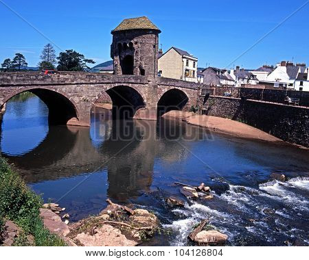 Fortified bridge, Monmouth.
