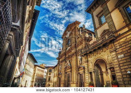 San Michele And Gaetano Church In Florence