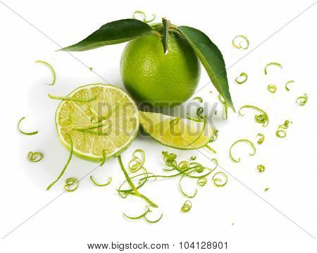 Lime Ingredient Zest And Limes