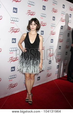 LOS ANGELES - OCT 7:  Cristin Milioti at the