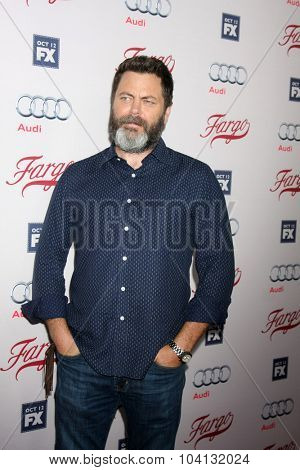 LOS ANGELES - OCT 7:  Nick Offerman at the