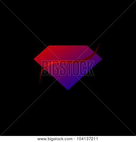 Gemstones design use for Gems logo, diamond logo, background for jewelry, jewellery, jewelry or gems