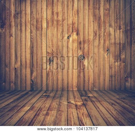 old wooden room, retro background, retro film filtered, instagram style
