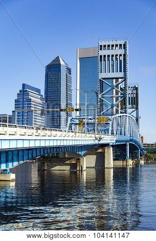 John T. Alsop Jr. Bridge In Downtown Jacksonville Florida