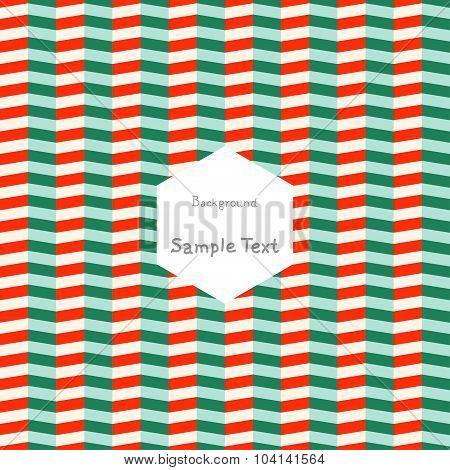 Fashion zigzag pattern, seamless vector background.