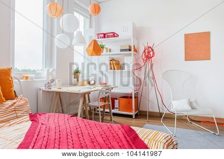 Red And Orange Decoration