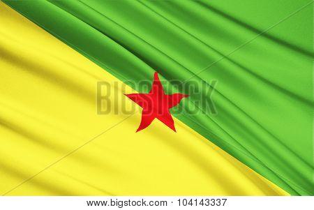 Flag Of French Guiana, Cayenne