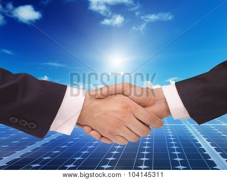 Solar  Power Energy Idea Concept Background Design