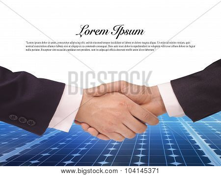 Solar  Power Energy Idea Concept Background Design