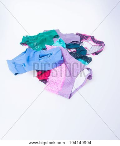 Panties. Panties On Background. Panties On A Background.