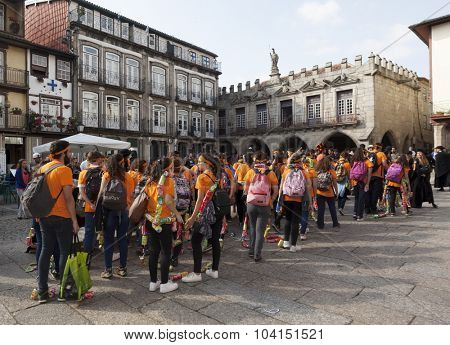 GUIMARAES, PORTUGAL - October 30: