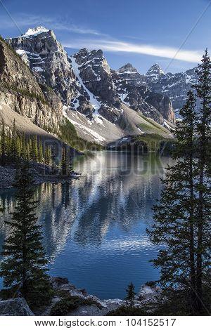 Reflections of Moraine Lake