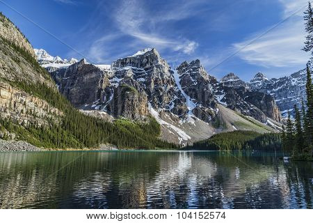 Moraine Lake Mirror