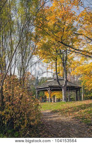 Autumnal Gazeba