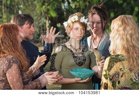 Pagan Initiation Ritual