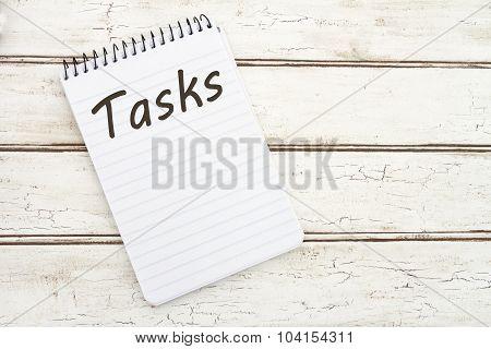 Listing Your Tasks