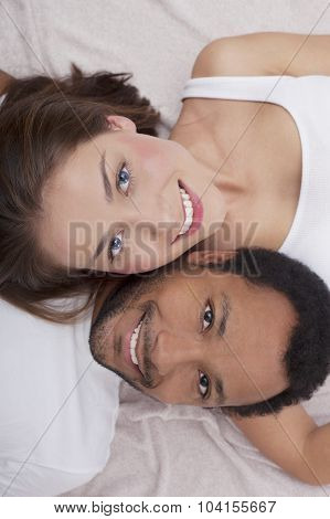 Interracial couple in Love