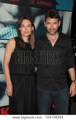 LOS ANGELES - OCT 7:  Claire Forlani, Dougray Scott at the