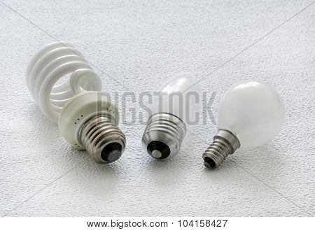 Light, Bulbs, Close-up