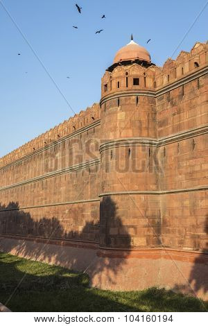 Red Fort Outer Wall