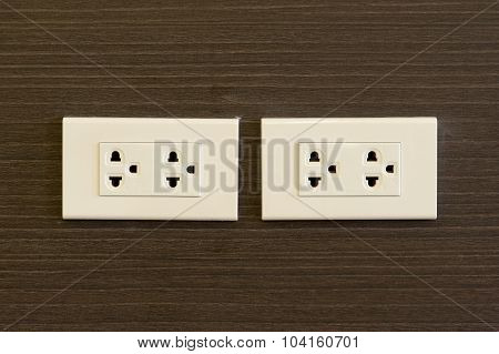 Plug Socket In Modern Place