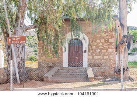 Old Synagogue, First Dutch Reformed Church In Springbok