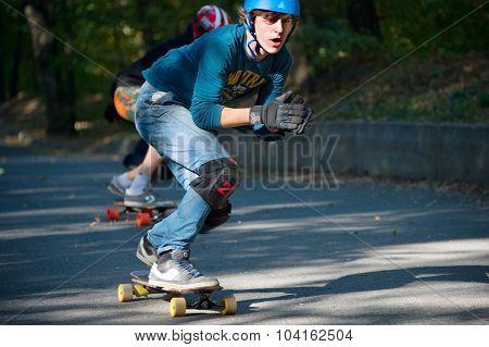 Longboard Downhill Contest