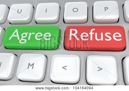 Agree/refuse Concept