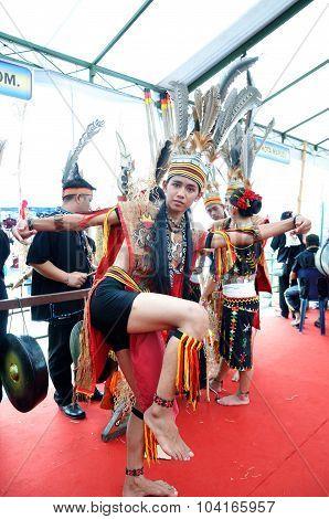Native people of sabah borneo; malaysia