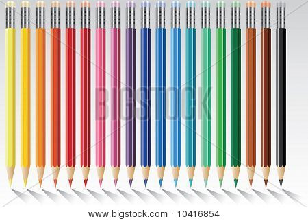 pencils with eraser