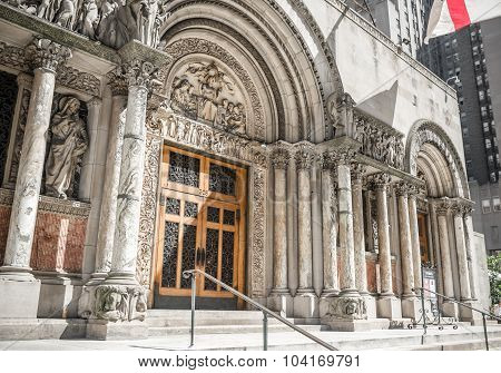 St. Bartholomew's Episcopal church, New York