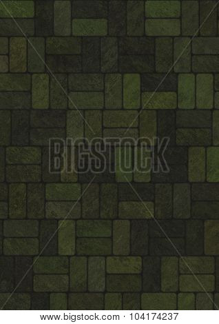 Artificial marble bricks background, texture