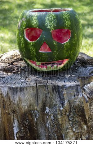Halloweens Watermelon
