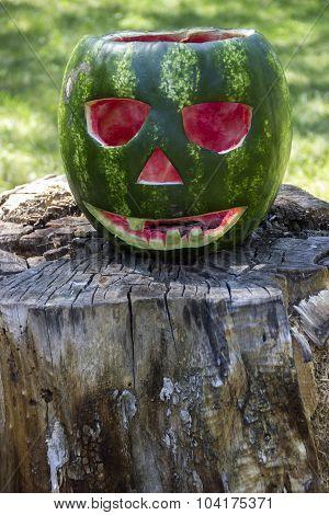 Halloweens Watermelon