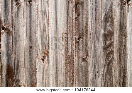 Old Light Burgundy Wood Wall Closeup