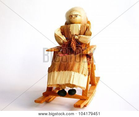 Grandmother In Rocking Chair